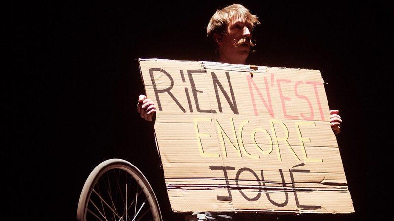 Manifeste (nous n'avons plus d'histoires à raconter)  + Dad is dead  Arnaud Saury et Olivier Debelhoir Mathieu Ma Fille Foundation