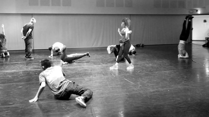 Atelier de danse hip-hop Kader Attou Cie Accrorap / CCN La Rochelle