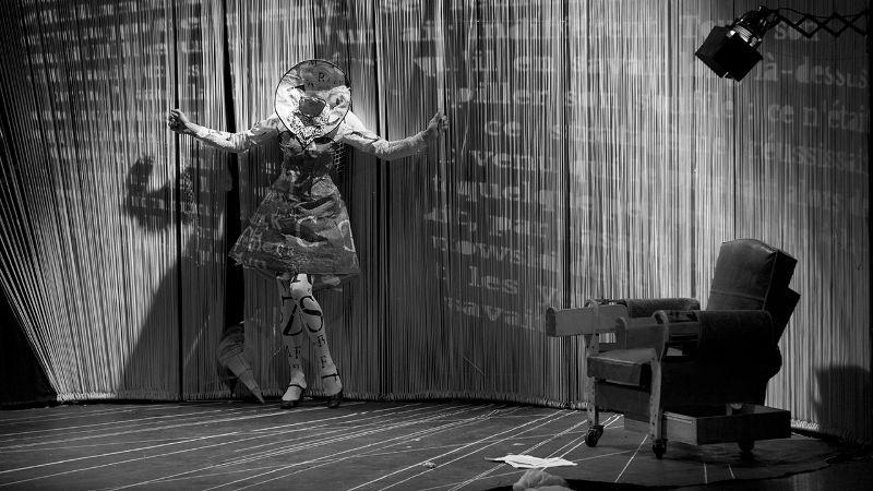 Atelier d'initiation à la marionnette Cie Les Anges au plafond