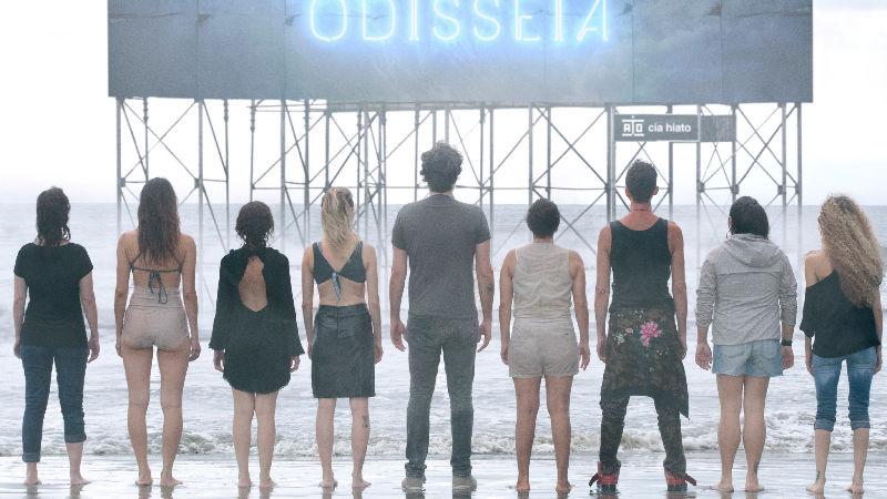 ODISSEIA [ou la disparition du public] Leonardo Moreira Cia Hiato Librement inspiré de l'Odyssée d'Homère