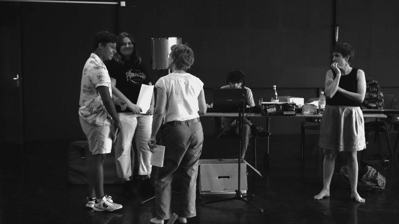 Chronique d'un théâtre déconfiné Plateaux Ouverts - numériques  avec les partenaires, enseignants & élèves, les artistes...