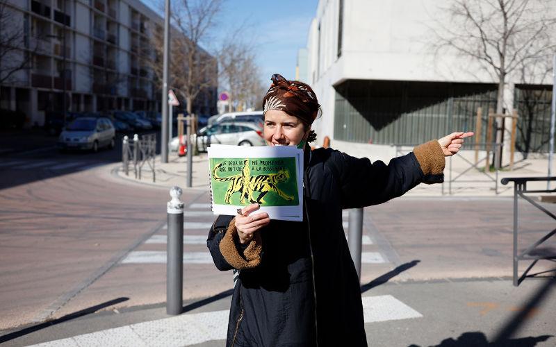 La traversée des désirs  Balade urbaine & poétique  Ilaria Turba  _Dans le cadre de la semaine Nature et biens communs