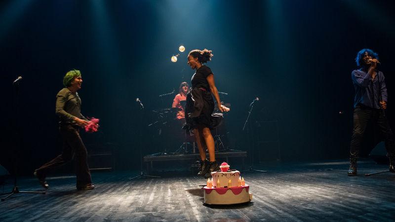 Antigone ma sœur   Nelson-Rafaell Madel  Compagnie Théâtre des Deux Saisons & le Collectif La Palmera