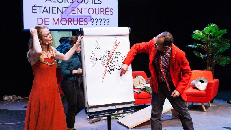 Atelier Théâtre - Borderline(s) investigation  Frédéric Ferrer Vertical Détour _tout public à partir de 15 ans