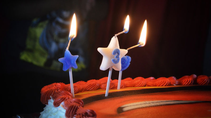 Anniversaire Marcelle 3 bougies !